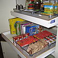 Pantry Cabinet - After, Pull-Outs