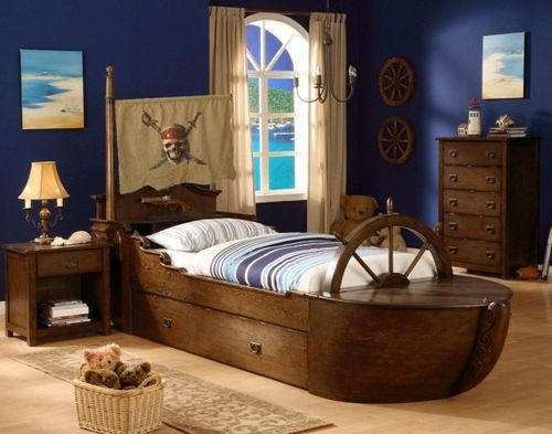 Bayside furnishings wood bed