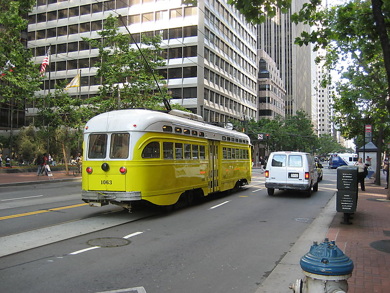 San Francisco Market Street Car
