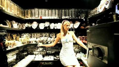 Paris Hilton Jewelry Closet