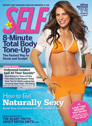 Self Magazine Cover July 2009