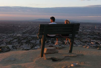 Runyon Canyon Park Bench