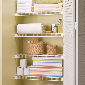 Shulte wire shelving