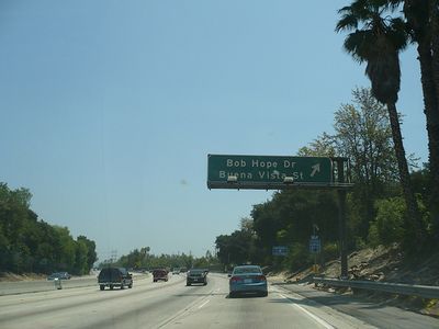 Bob Hope Exit off 134 Freeway