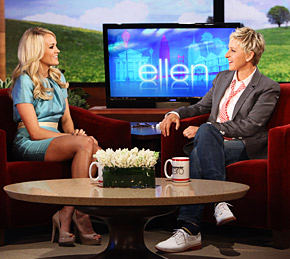 Carrie Underwood Ellen Degeneres