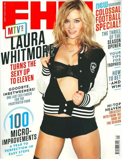 Laura Whitmore FHM Magaizine September 2011