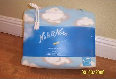 Nick & Nora Flannel Cloud Sheets Bedding