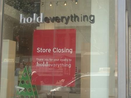 Hold Everything Closing New York City