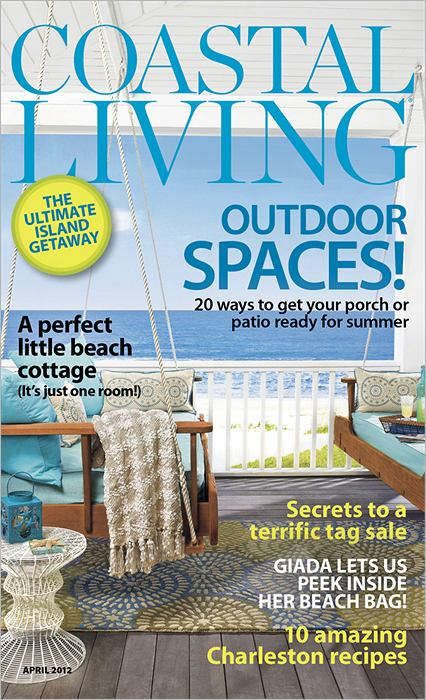 Coastal Living Magazine April 2012