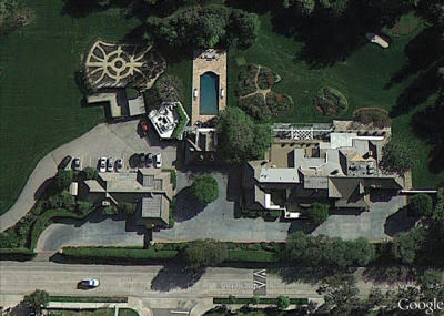 Bob Hope Toluca Lake Home Google View