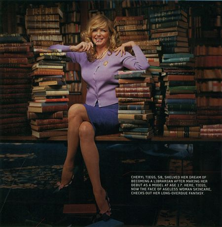 Cheryl Tiegs Library Books Home