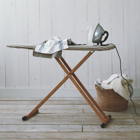 West Elm Bamboo Ironing Board