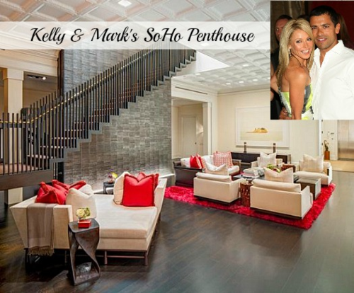 Kelly-Ripa-Mark-Consuelos New York City Apartment No Clutter