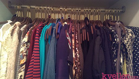 Mayim Bialik closet after