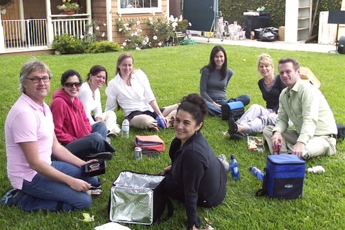 Lunch on the Lawn I